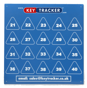 Keytracker Magnetic Block Board